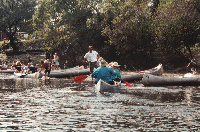 canoe special events